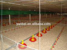 yüksekliği ayarlanabilir otomatik burgu broiler tavuk besleme ekipmanları