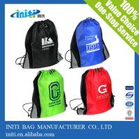 eco friendly fashion shopping wholesale drawstring clear plastic bag