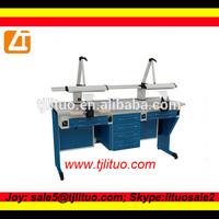 Good quality laboratory bench, electrical dental plaster vibrator