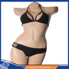 For sale fashion sexy girl bikini 2014 with stitching colors