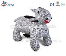 GM59 2014 zebra ride toy kids drive shopping cars