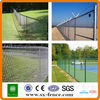 ISO CE certified black chain link fencing (diamond style)