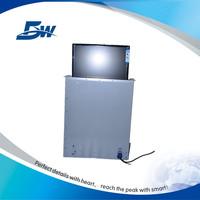 """Guangzhou 17"""" 19"""" 22"""" motorized monitor lift/desk lcd monitor lift for AV system"""
