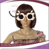 cheap apple shaped white fashionable eye glasses