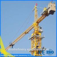High efficiency realiable qtz80 elba tower crane