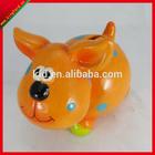 Cheap lovely dog ceramic children money saving boxes