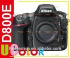 Genuine Nikon D800E D800 E 36.3 MP FULL FRAME DSLR Camera Body Multi-Language