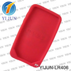 Waterproof Red China silicon cell phone cover manufacturing