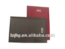 print leather cover book with sewing binding