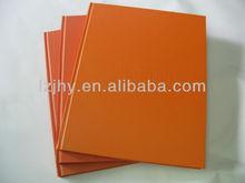 decorative paper note book printing/b5 size note book
