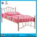 Quarto furntire rosa única cama meninas kc-bd006