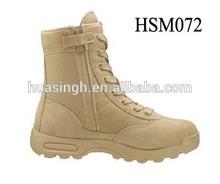 GH,SWAT classic 8'' air bag military performance YKK zipper coyote desert boots