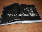 Hardback book /hardcover catalog book case printing in China