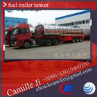 38000 litres stainless steel oil tanker trailer ,used oil tank semi trailer for sale
