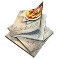 Flip book service d'impression l'impression de livres cook impression de livres reliure