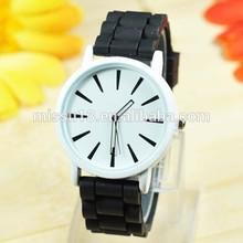 Wrist watch Popular Watch Silicone Geneva lady silicone