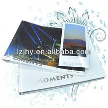 print A4 size landscape Hard cover album Book/photo book manufacturer