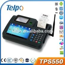 New Technology TPS550 android Biometrics pos machine printer&rfid reader msr