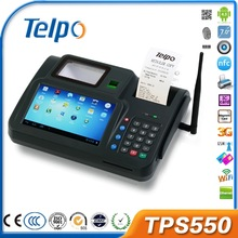 All-in-one TPS550 android Biometrics pos machine case