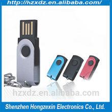 OEM rotate 16GB usb flash drive,Metal 16GB pen drive