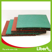 outdoor playground safe flooring rubber tile LE.DD.001