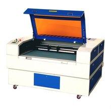 good price 2 heads 100W rabbit HX-1690SG stainless steel engraving machine laser engraving