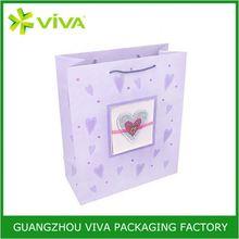 Hot sale packaging animal print gift bags paper