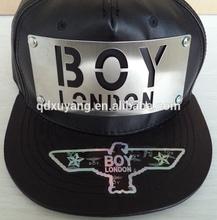 leather snapback hats custom