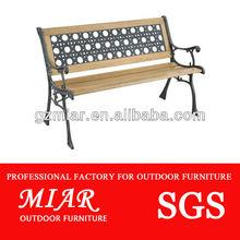 Hard wood outdoor bench 101221