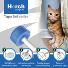Professional lint roller clean sofa cloth and pet hair of opp tape