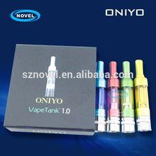 Factory price newest design airflow adjustable atomizer oniyo vision 510 nano clearomizer