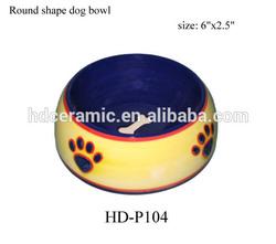 2015 wholesale fashion design unique dog food bowls