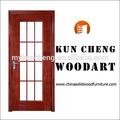 Fini de surface de finition et portes d'entrée de type porte d'entrée en bois/balançoire en bois en bois massif porte d'entrée/conçoit porte principale