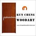 Atacado barato bela fada portas/sólidos de madeira de madeira do balanço porta de entrada/mais recente design de portas de madeira