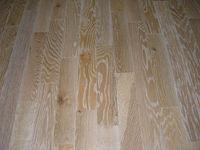 White wash natural oak brushed engineered wood floor