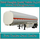 44000 liters insulate fuel tanker semi trailer crude oil storage tank