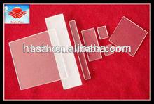 Borosilicate rectangular glass sheet