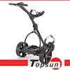 Motorized Three Wheels Electric Golf Trolley Lithium Battery