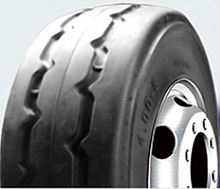 LS602 4.00-8 solid tire for fork lifts Chinese supplier