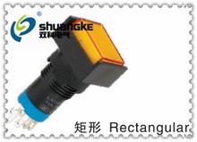 SHUANGKE 12MM MINIATURE PUSH BUTTON SWITCH ,WITH LIGHT,SELF-RESET,SELF-LOCKING,CIRCULAR/SQUARE/RECTANGULAR