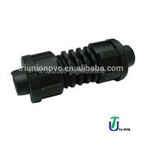 Irrigation Drip tape loc coupler/loc coupler drip irrigation
