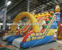 Hot Sale Snow white model inflatable slide funny slide