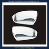 2pcs/set plastic chrome side mirror cover for Ford New Ranger 12'~on use