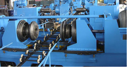 flanging & beading Machine for 55 gallon steel barrel production line or steel drum making machine plant 208 Lt.