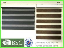 Good Quality 100% Polyester Zebra Blind