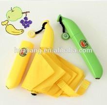 2014 New invention banana shape special umbrella