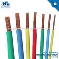 Eléctrica de la fábrica de alambre de cobre/pvc alambre 2.5mm, pvc flexible de alambre de cobre puro