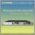 Dmb- 9060( 4- ch) hochwertige multi- Kanal satellitenradioempfänger mit 4*ci+biss Entschlüsselung