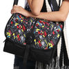 Charming adjustable free pattern vertical teen shoulder bag TSB501