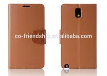 mercury goospery SONATA diary leather wallet case for LG G3 D855